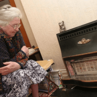 elderly lady plunged into fuel poverty