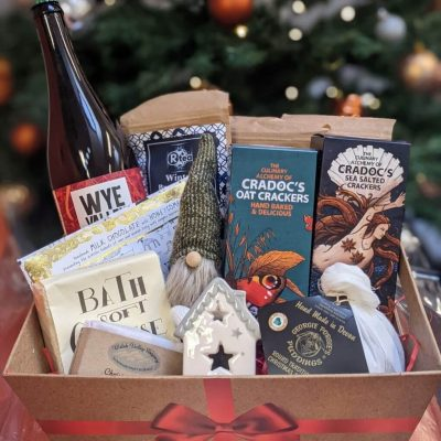 a festive hamper giveaway at christmas