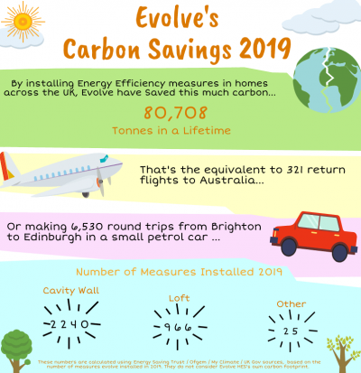 Carbon Savings, what causes carbon emissions