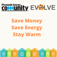 Saving energy and money logo
