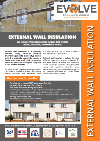 Guide to External Wall Insulation