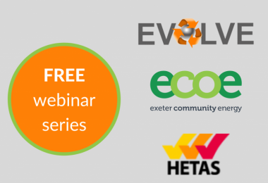 Webinar with Exeter Community Energy and HETAS