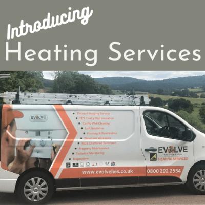 Evolve heating services van