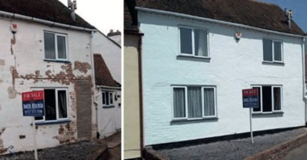 exterior painting services example