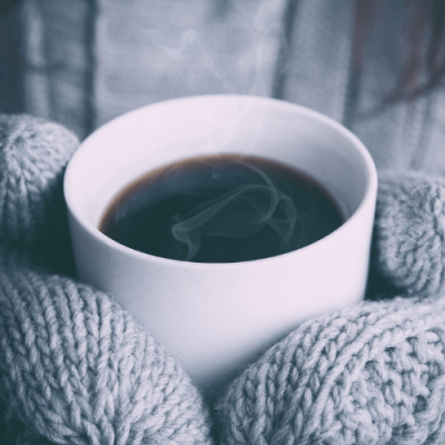 stay warm this winter with a mug of coffee