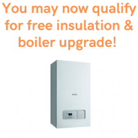 Universal Credit claimers can obtain free insulation and boiler upgrade